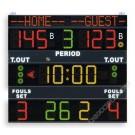 TABELLONE ELETTRONICO  FS130 OMOLOGATO FIBA