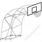 Impianto Basket Traliccio Sbalzo cm.220
